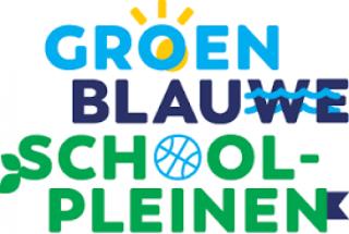 Groen-blauw (binnen) schoolplein
