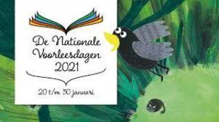 Prentenboek Nationale Voorleesdagen: juf Merel leest voor!